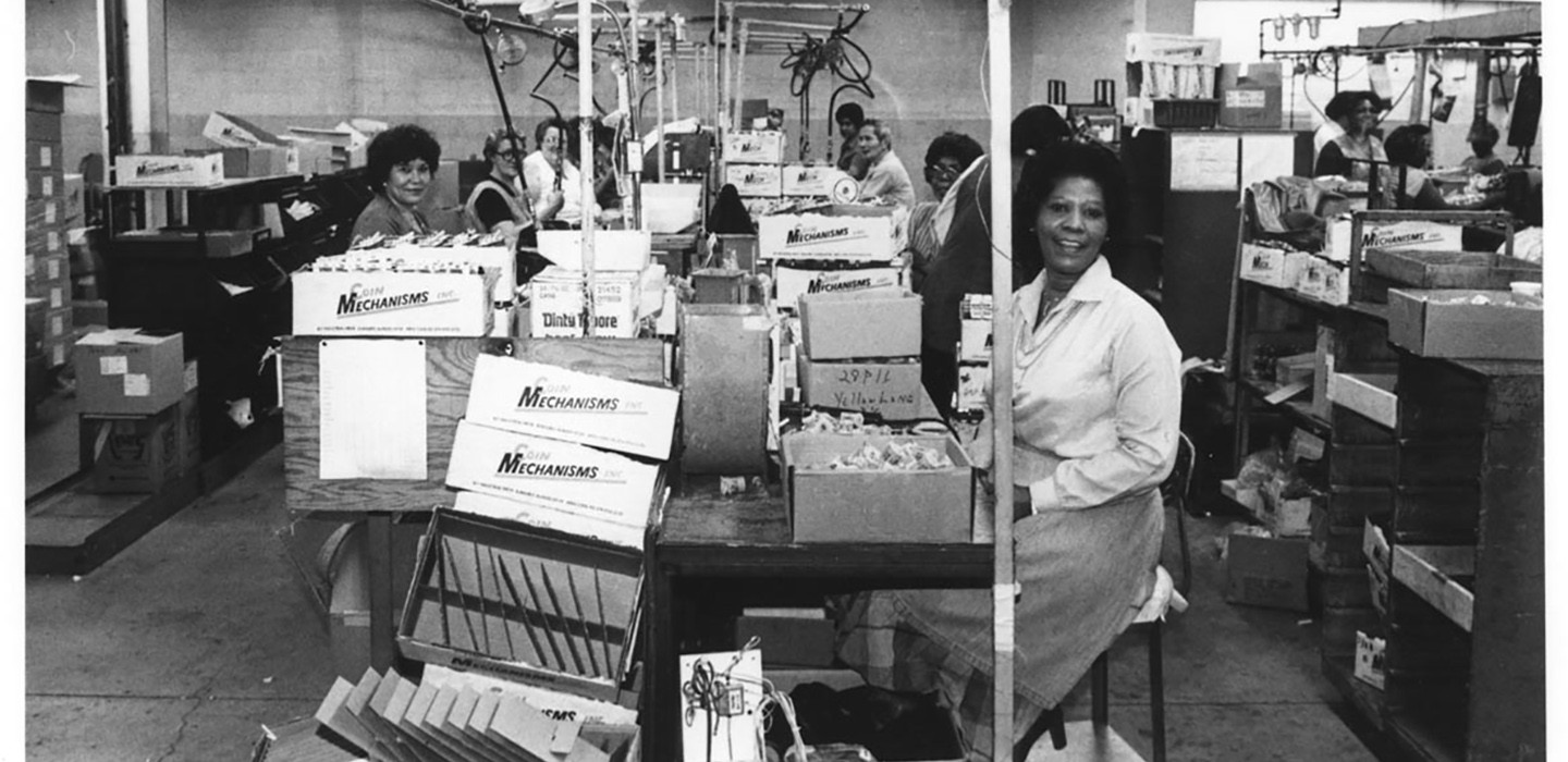 Women working on Williams assembly line
