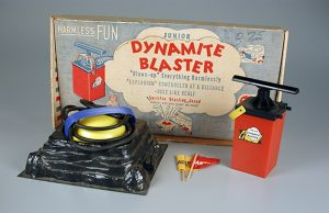 105,334 Junior Dynamite Blaster, Kilgore Manufacturing Company, 1958. The Strong, Rochester, New York.