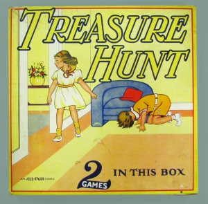 Treasure Hunt board game, about 1935. The Strong, Rochester, New York.