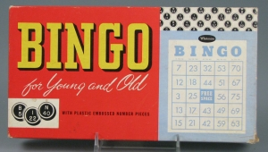 Bingo For Young and Old, gift of Karen Daskawicz in memory of Elizabeth Harris Daskawicz. The Strong, Rochester, New York.