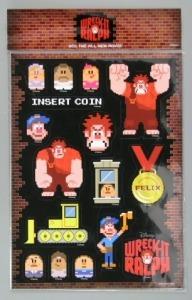 Wreck-It-Ralph Sticker Sheet, The Strong, Rochester, New York