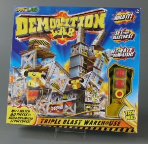 SmartLab Toys play set Demolition Lab; The Strong, Rochester, New York.