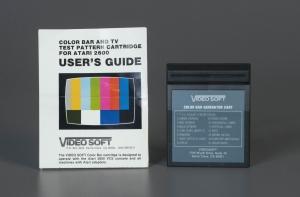 Atari 2600 Color Bar Generator Cartridge, 1984. The Strong, Rochester, New York.