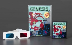 Genesis 3D Atari 2600 game, 2010, The Strong, Rochester, NY.