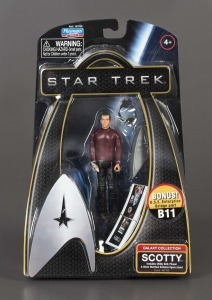 Star Trek Galaxy Collection: Scotty, 2009. The Strong, Rochester, New York.