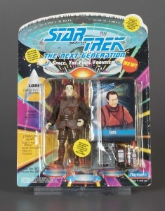 Star Trek The Next Generation: Lore, 1993. The Strong, Rochester, New York.