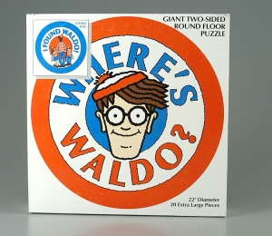 Where's Waldo? jigsaw puzzle, 1991. The Strong, Rochester, New York.