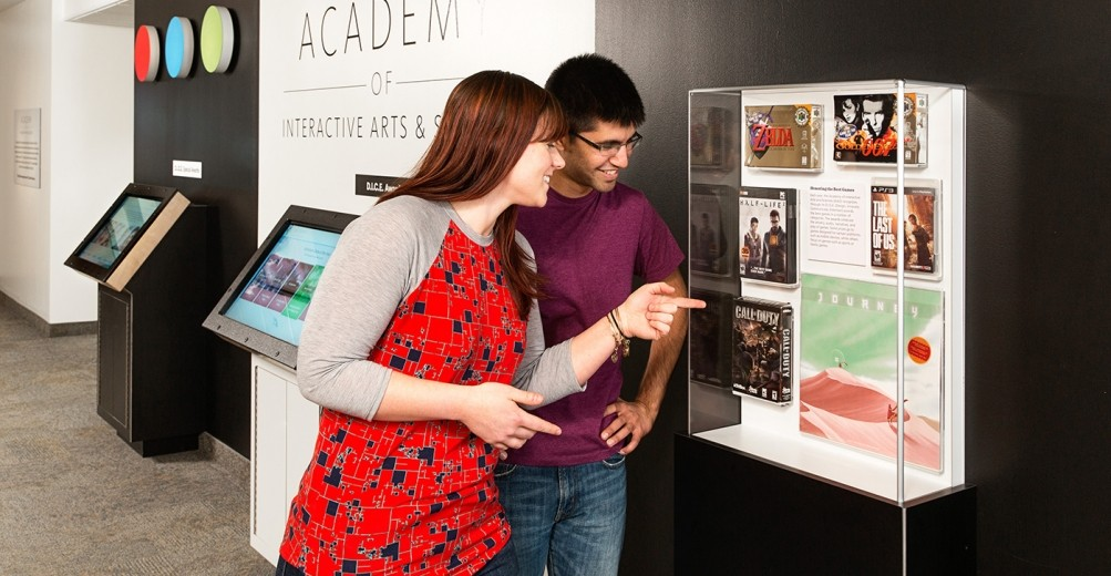 Academy of Interactive Arts and sciences artifact case