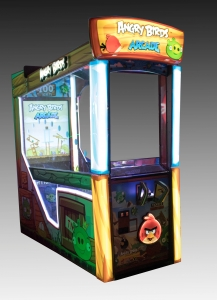 Angry Birds Arcade game, 2015, The Strong, Rochester, New York.