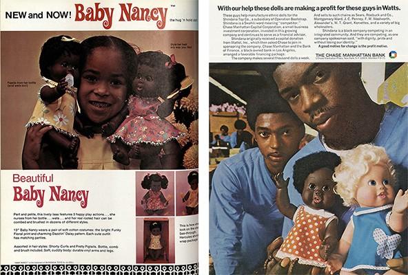 Baby Nancy ads