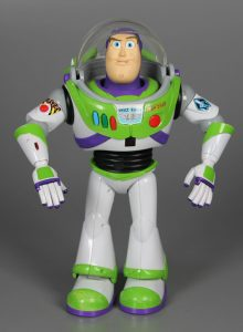 Buzz Lightyear toy, Thinkway Toys, courtesy of The Strong, Rochester, New York.
