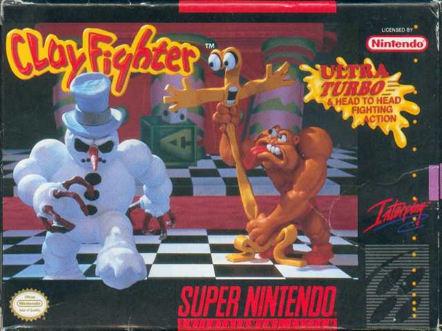 Clay Fighter, Super Nintentdo, 1994, The Strong, Rochester, New York