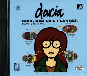 Daria: Sick, Sad Life Planner video game, 1999.