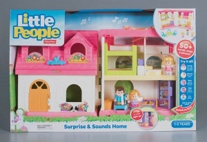Fisher-Price Little People Surprise & Sounds Home playset, 2016. Gift of Fisher-Price, The Strong, Rochester, New York.