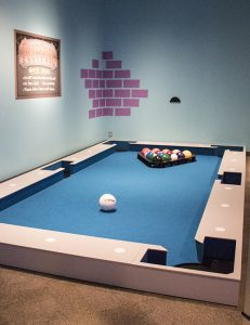 Foot Pool interactive, Have a Ball exhibit, The Strong, Rochester, New York