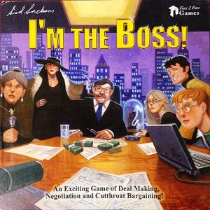 I'm the Boss, board game, 2003, Gift of Phil Friedman, Courtesy of the Strong, Rochester, New York