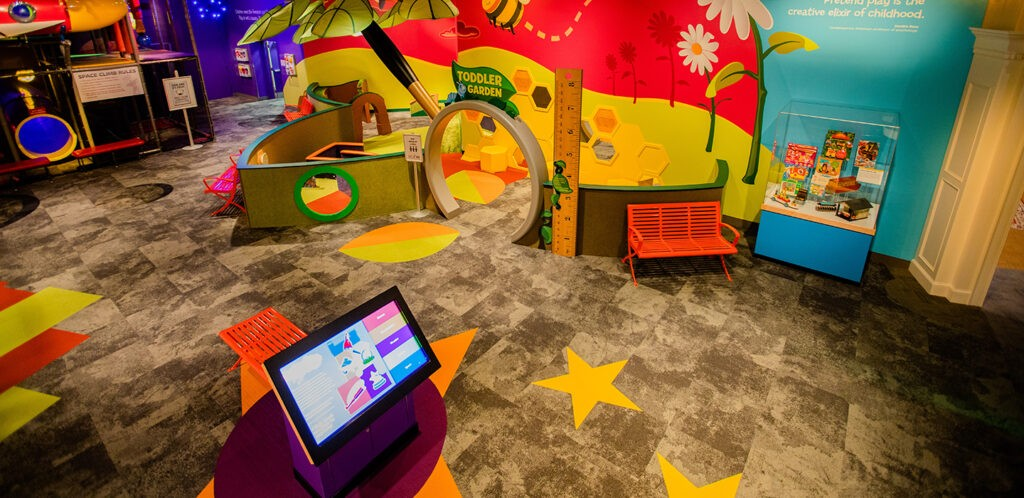 Toddler play space