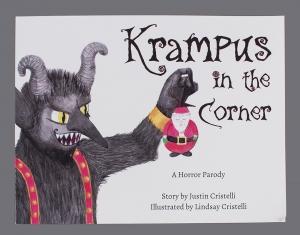Krampus in the Corner book, 2017.