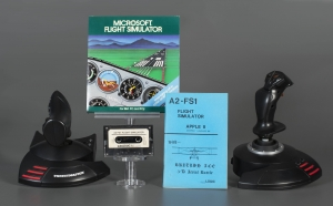 MS Flight Simulator artifacts, The Strong, Rochester, New York.
