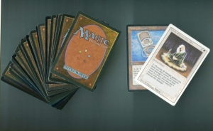 A typical player deck from Magic: the Gathering, The Strong, Rochester, NY