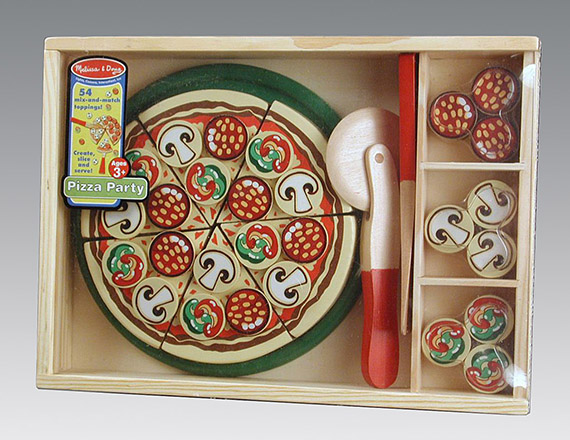 Melissa and Doug Pizza Party Toy