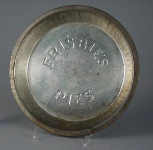 Pie pan Frisbie Pie Company