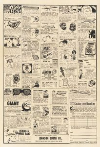 Richie Rich comic book ad, February 1971, Vol. 1, No. 102, The Strong, Rochester, New York.