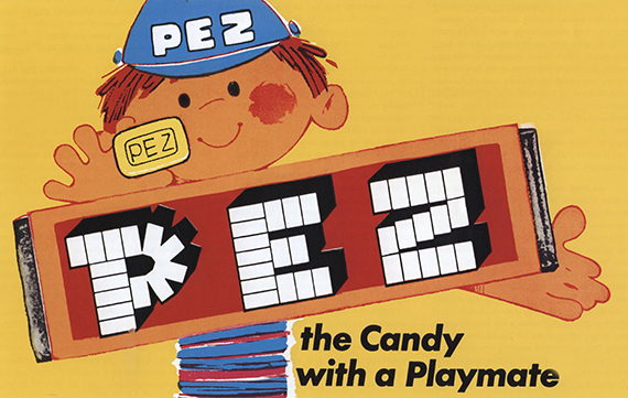 PEZ advertisement