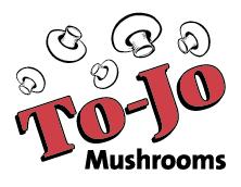 To-Jo Mushroom logo