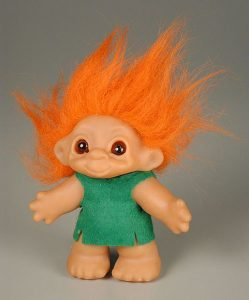 Troll figure, Dam Things, The Strong, Rochester, New York.