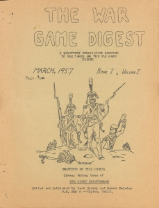 War Game Digest, in 1957. Courtesy of The Strong, Rochester, New York.