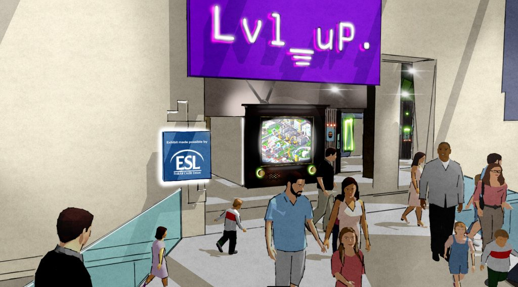Level up rendering