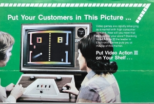 Video Action III advertisement, The Strong, Rochester, New York.