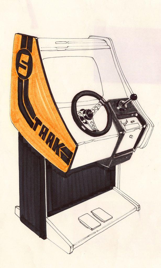 Atari design drawing