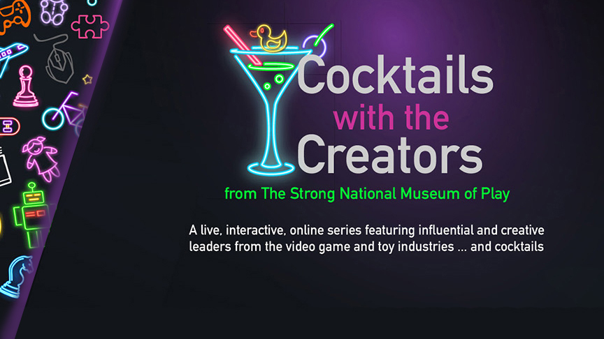 COcktails with the creators banner