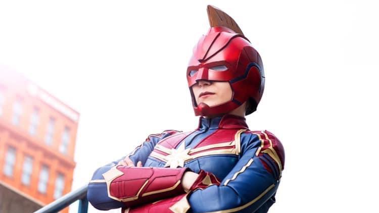 Hillary Brooks as Captain Marvel