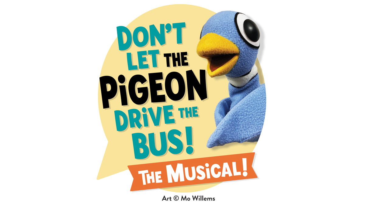 Don't let the pigeon drive the bus graphic